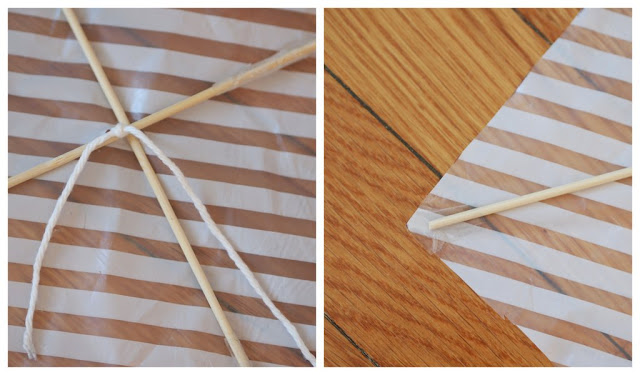 how to make a simple kite with newspaper