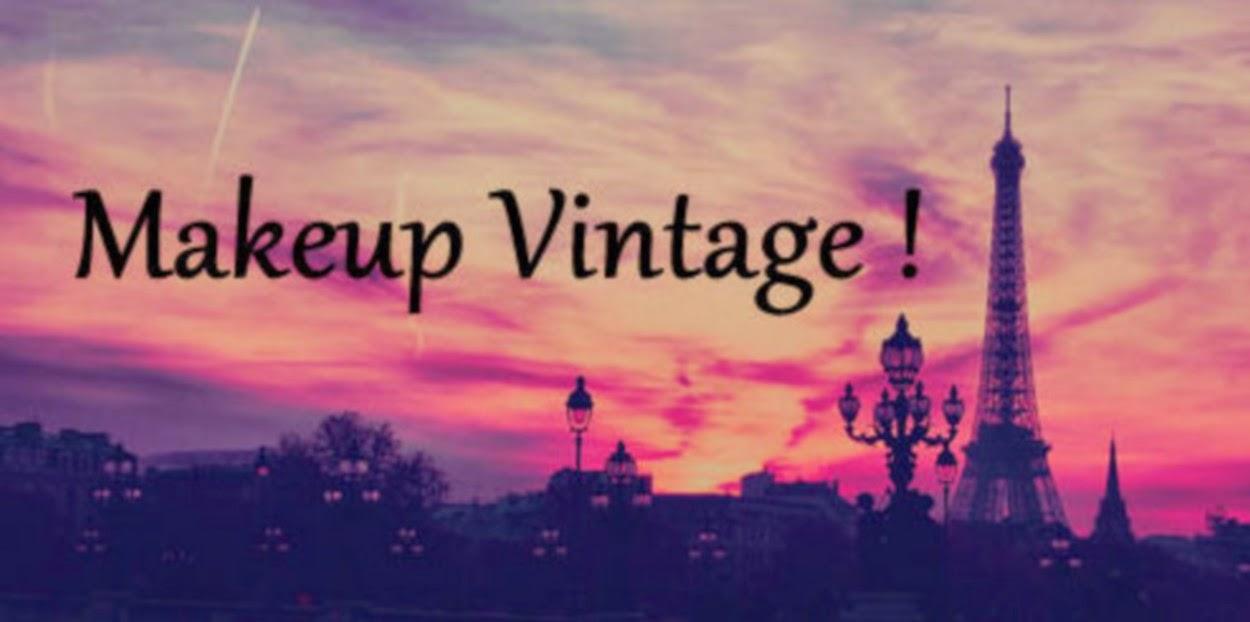 Makeup Vintage !