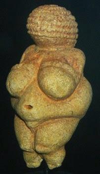 Woman or Venus of Willendorf, c. 24,000-22,000 BCE.