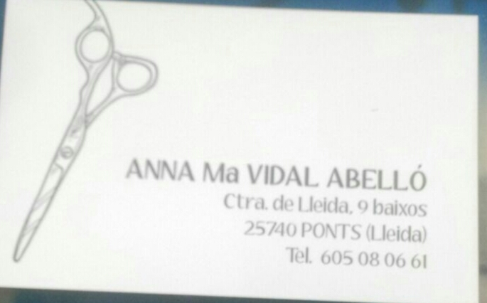 Peluqueria Anna Ma.Vidal