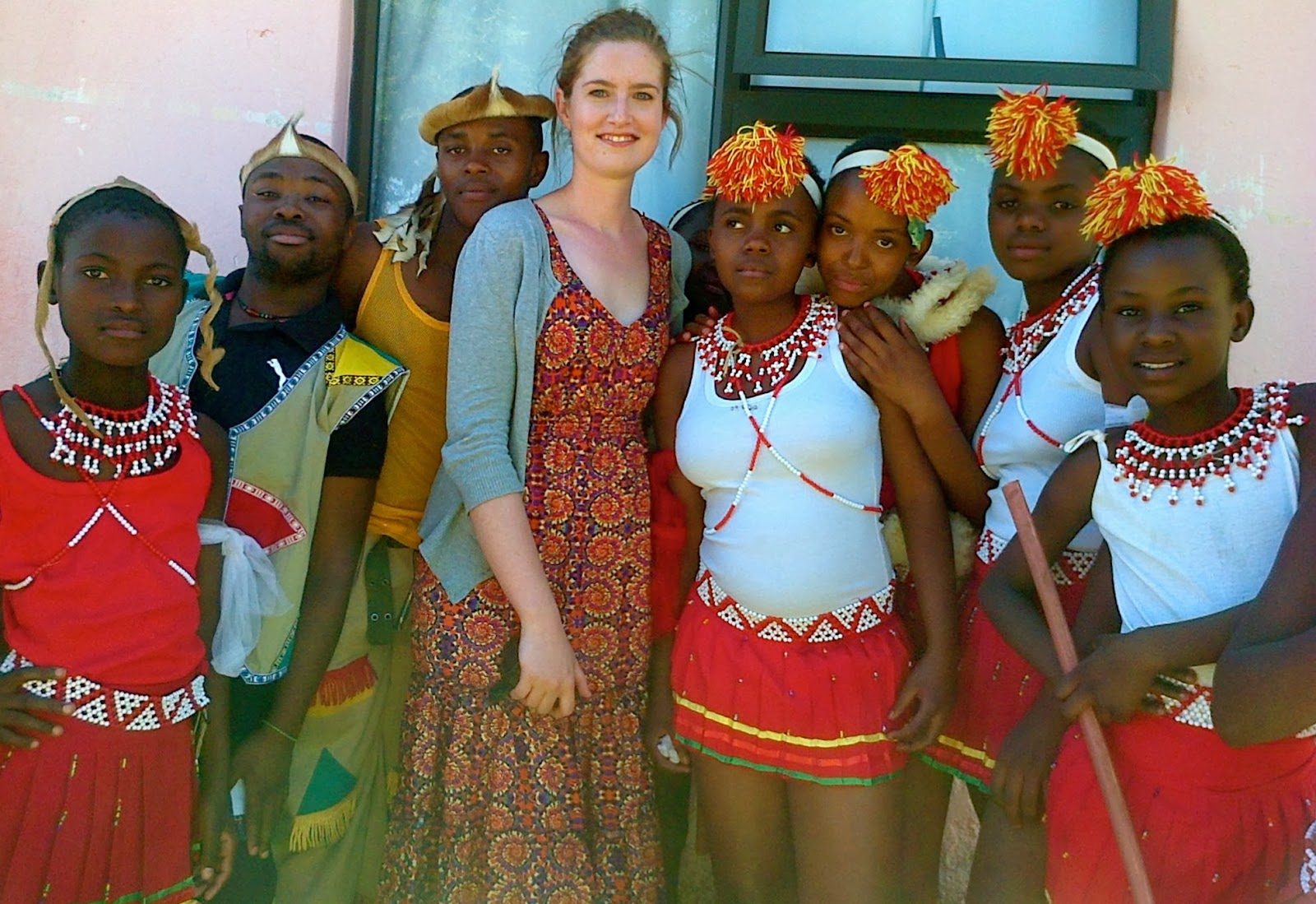 Rose Abroad: Traditional Wedding : A day of slaughter, dance and ...