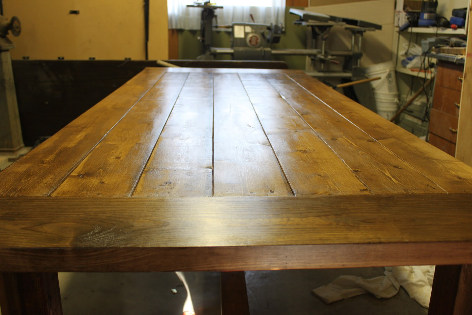 How We Built A Diy Dining Room Table From Free Plans Online It Was Easy You Should Try It