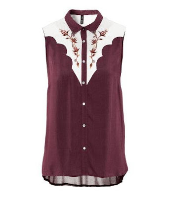 H&M Isabel Marant Inspired Blouse