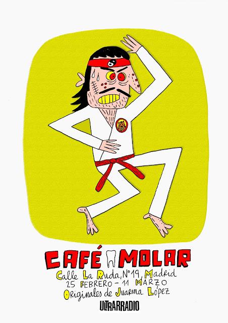 Exposición en Café Molar (Madrid)