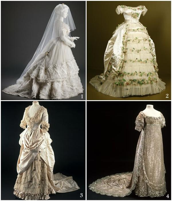 1800 Wedding Dresses Victoria