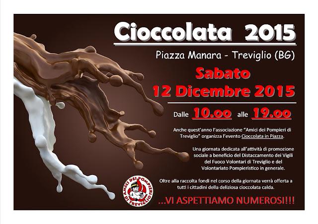 Cioccolata in Piazza 12 Dicembre Trviglio (BG)