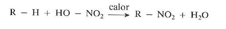 racciones de nitracion
