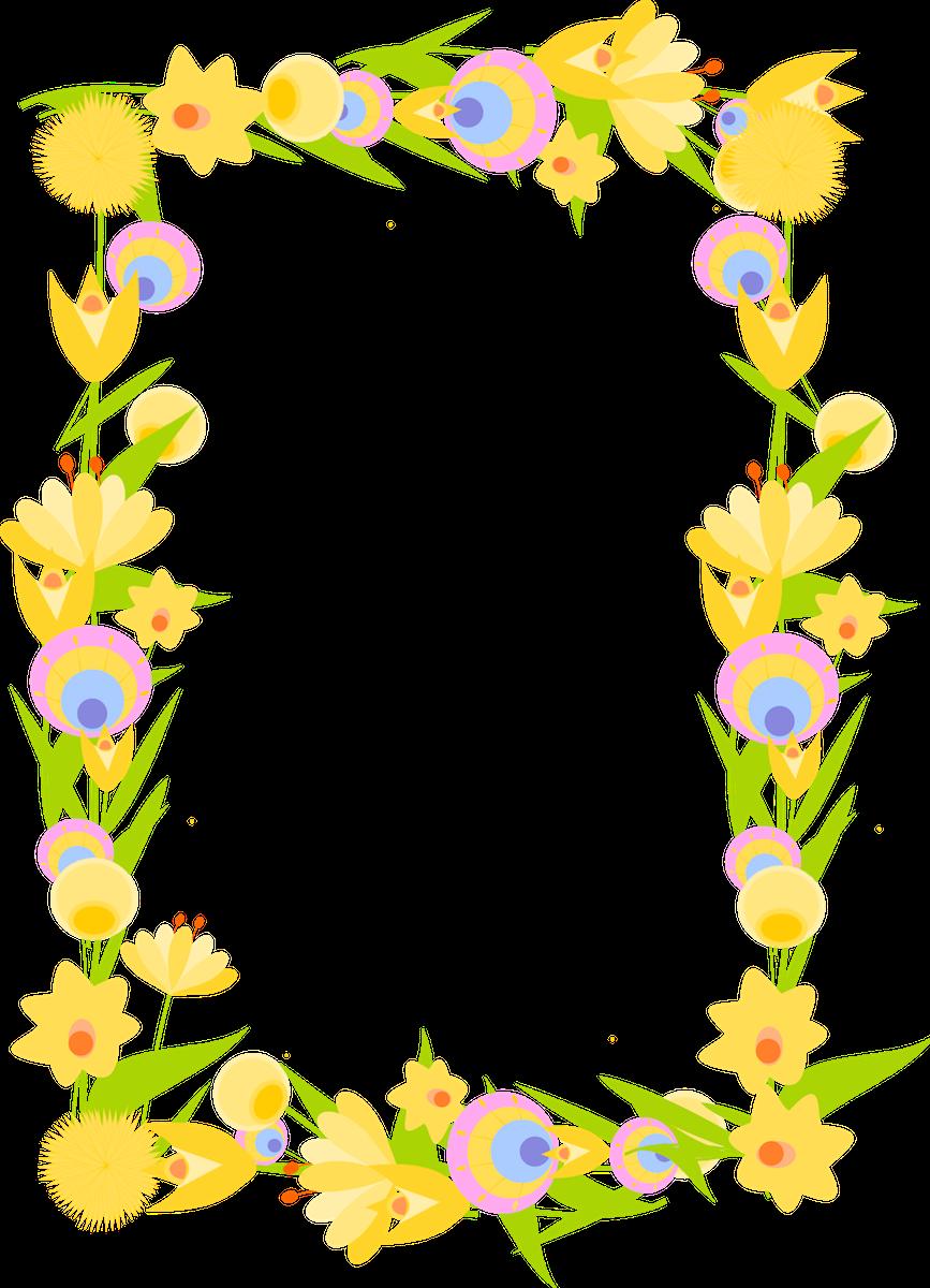 of floral frames - photo #19