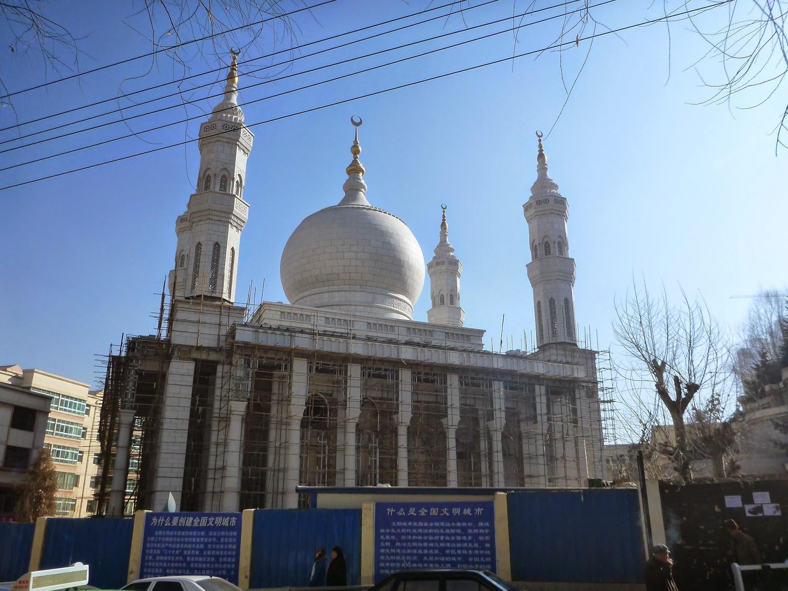 Картинки по запросу Mosque domes china