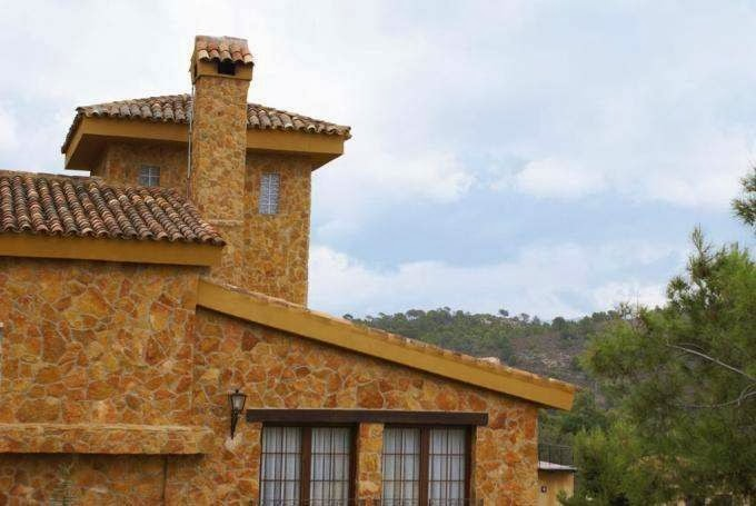 Fachadas de piedra modelos de fachadas de casas de piedra - Fachadas de piedra natural ...