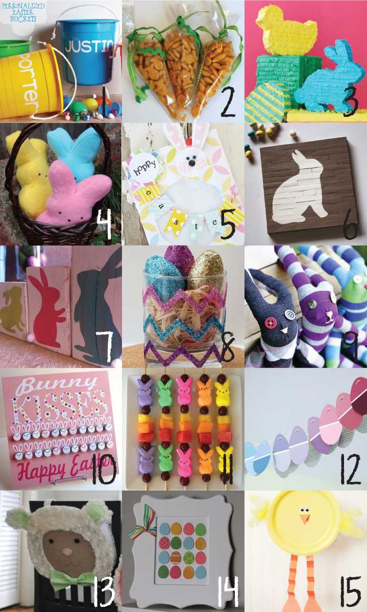 30 Easter Projects