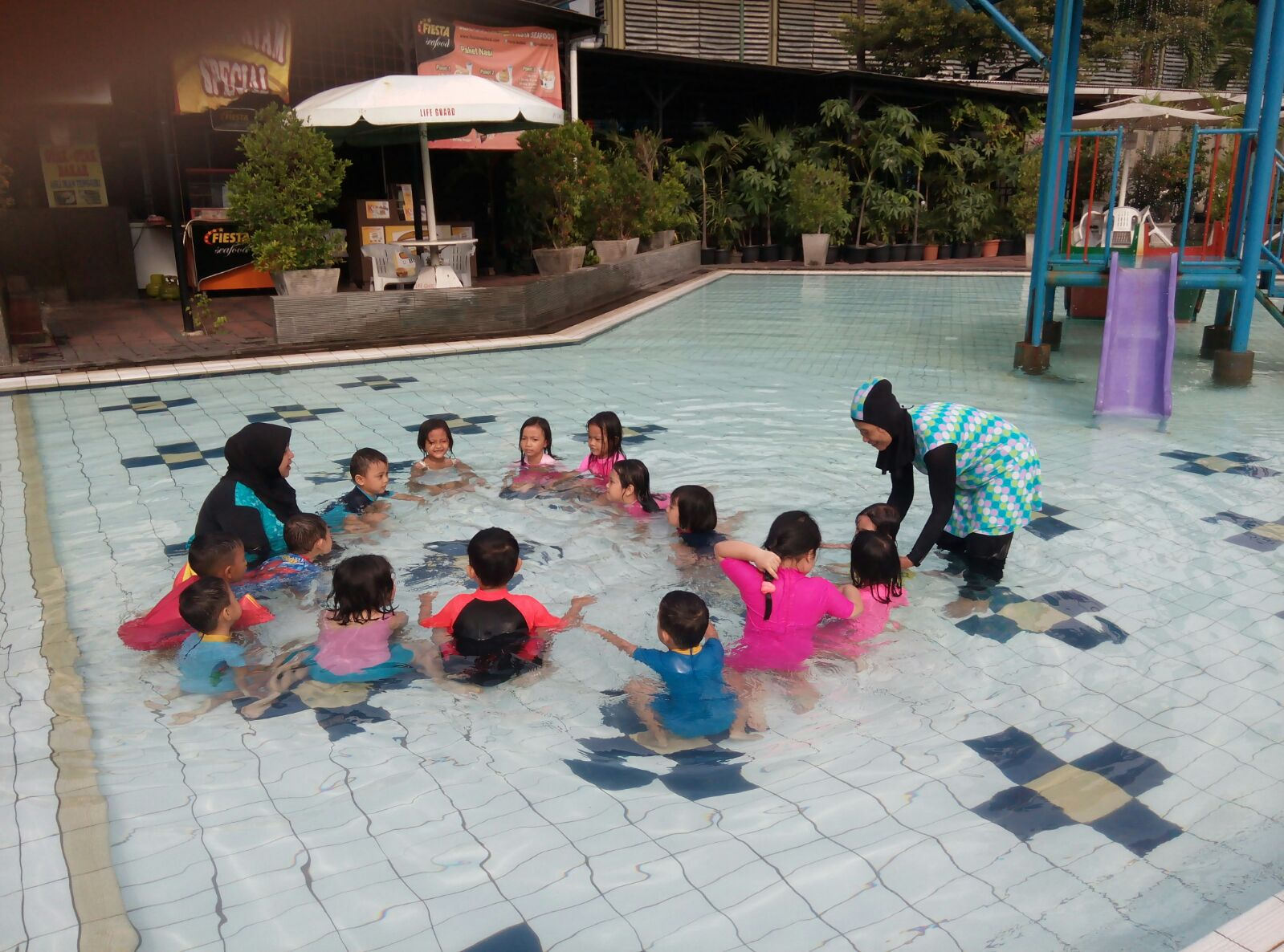 Kegiatan Berenang