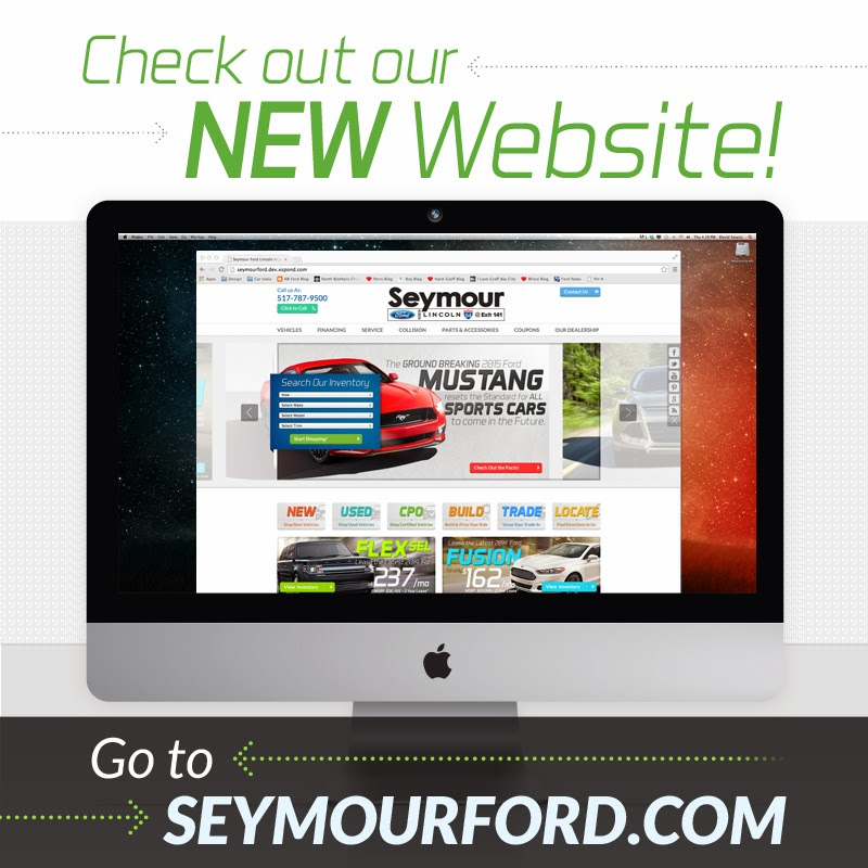 Check Out the BRAND NEW SeymourFord.com!