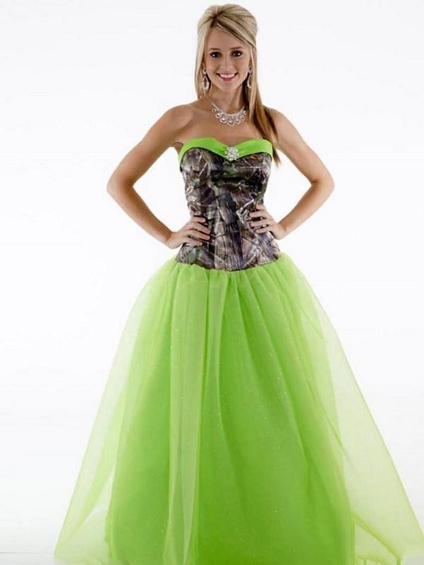 Camo Prom Dresses Cheap