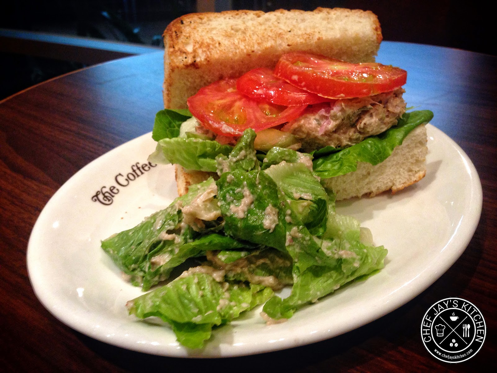 The Coffee Bean & Tea Leaf - CBTL Chef's Tuna Sandwich