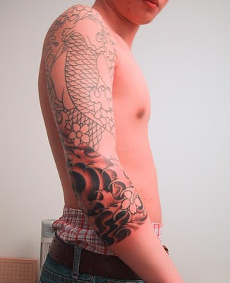New Japanese Tattoo Sleeve