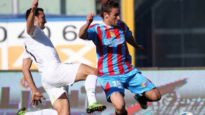 Catania Lazio 1-0 highlights sky