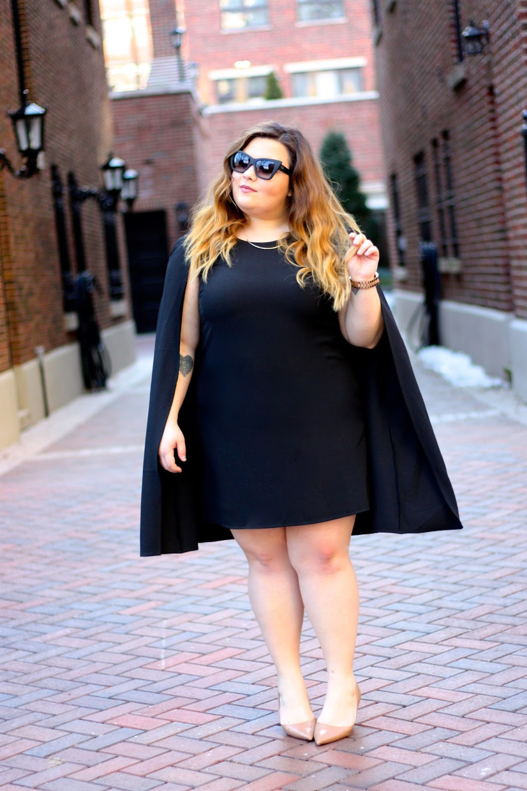 MY BOYFRIEND DOESN\'T LIKE MY CAPE DRESS | Natalie in the City - A ...