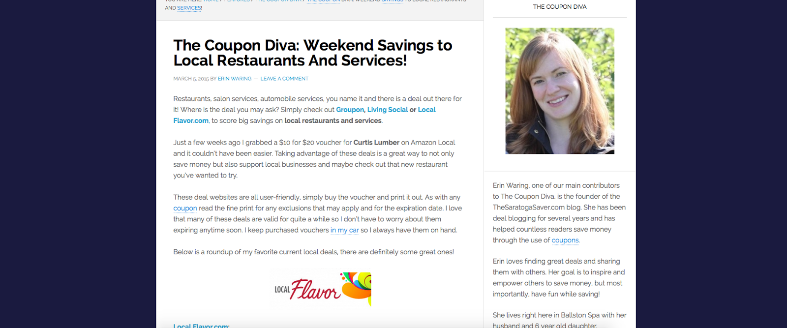 http://theballstonjournal.com/2015/03/05/the-coupon-diva-weekend-savings-to-local-restaurants-and-services/