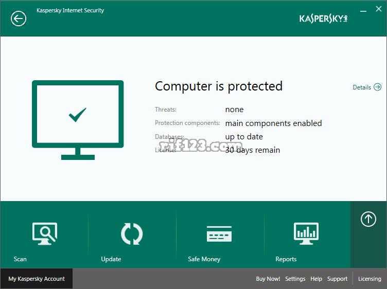 Kaspersky antivirus install
