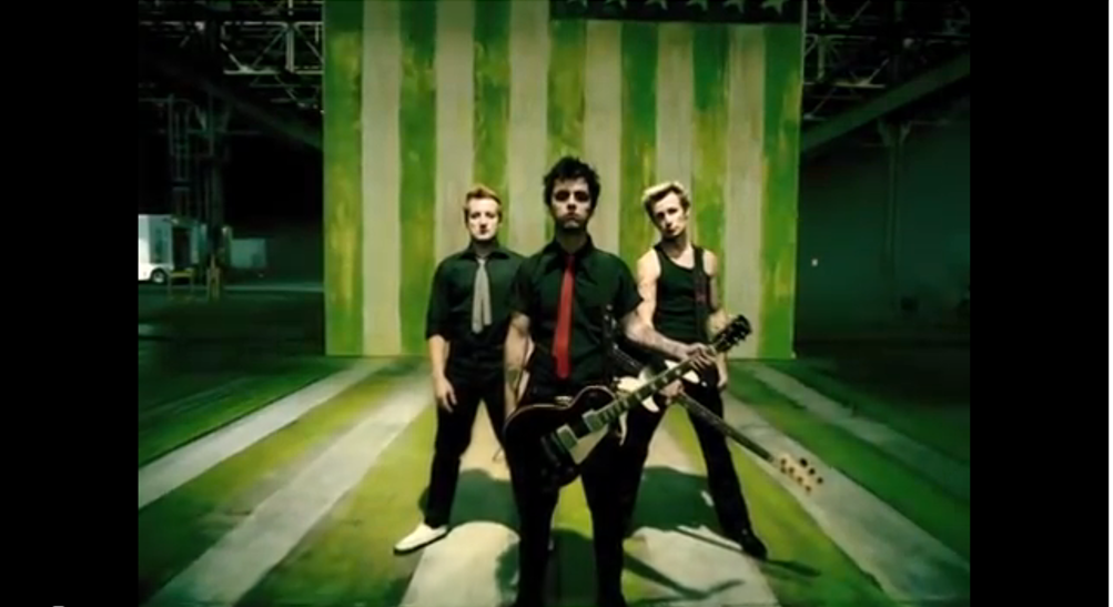 an analysis of the lyrics of a green day song This song is not anti-american, it's anti-war - armstrong many famous seers have suggested a prediction that the end of the world will come after or during world.