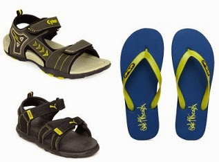 Flat 50% Off on Branded Flip-Flops & Sports Sandals @ Myntra (No Minimum Purchase) Free Shipping for New Customers