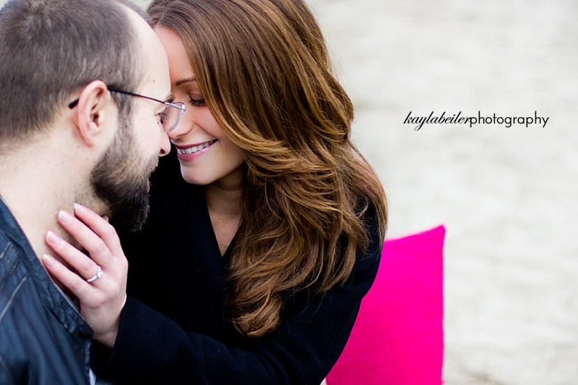 stanley park engagement photo