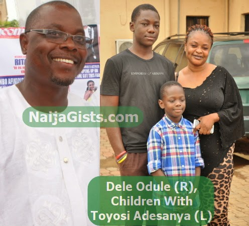 dele odule children