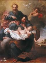 A Santíssima Trindade e os Anjos dizem: Ide a José!