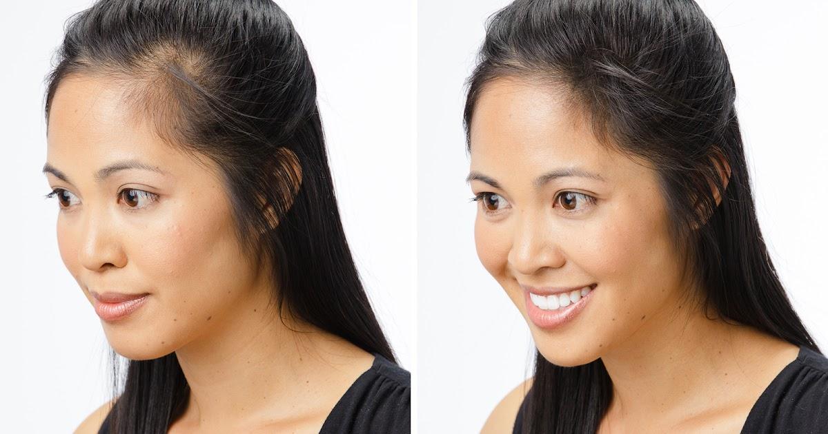 El tratamiento de los cabello por los aceites de la foto