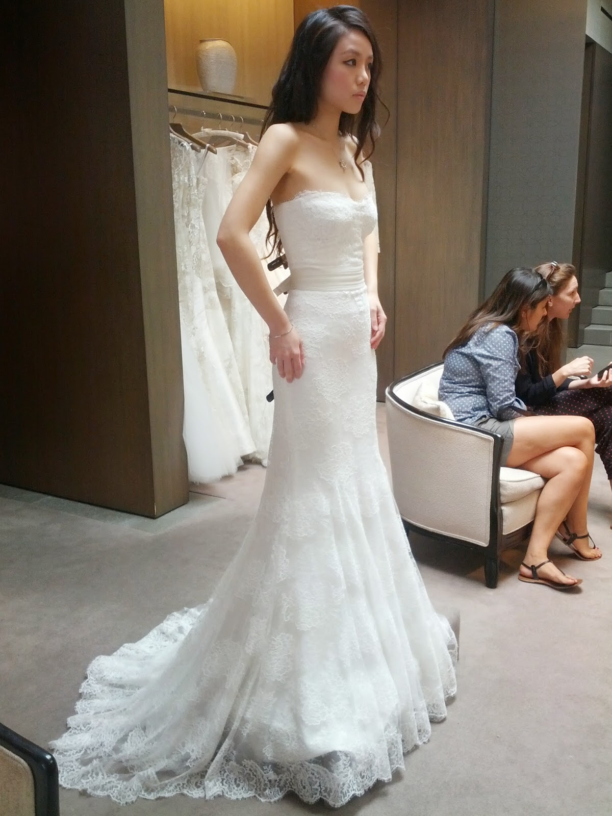 monique Lhuillier wedding dress for petite