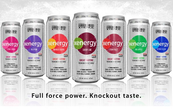 Xyience Energy Drink Flavors