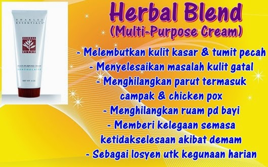 Herbal Blend Multi-Purpose Cream