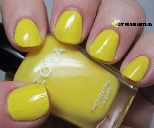 Zoya Pippa, the perfect Minion yellow