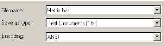 Cara Membuat Efek Matrix Dengan Menggunakan Notepad
