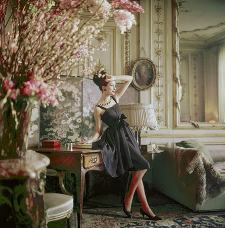 Christian Dior 1960 by Mark Shaw