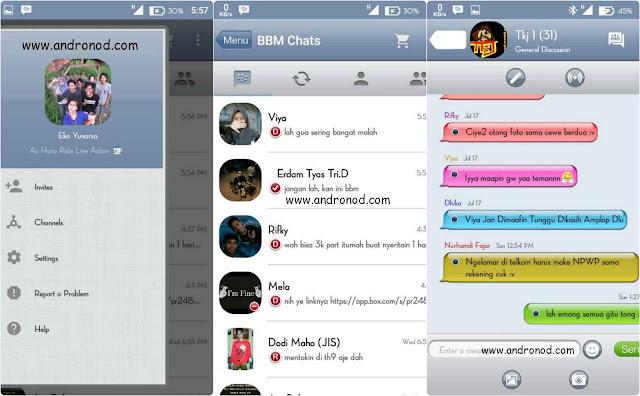 BBM Mod iyOS 6 v2.9.0.49 apk