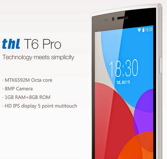 Photo Gallery: THL T6 Pro smartphone | custom-romandroid
