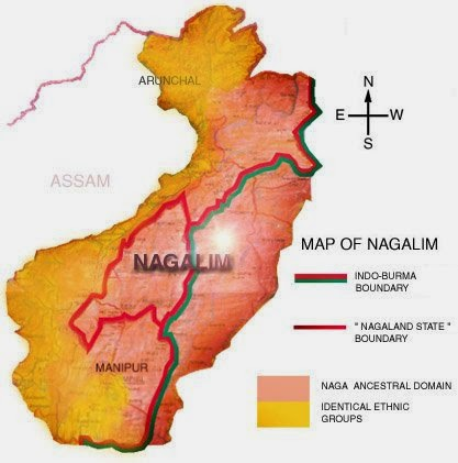 Naga community opposes boundary map of Nepalese group within its land