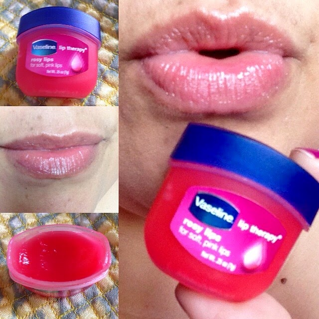 vaseline. rosy lips, lip therapy, cid style file, beauty reviews, instagram