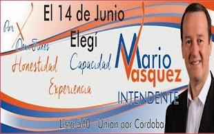 Mario Vásquez intendente