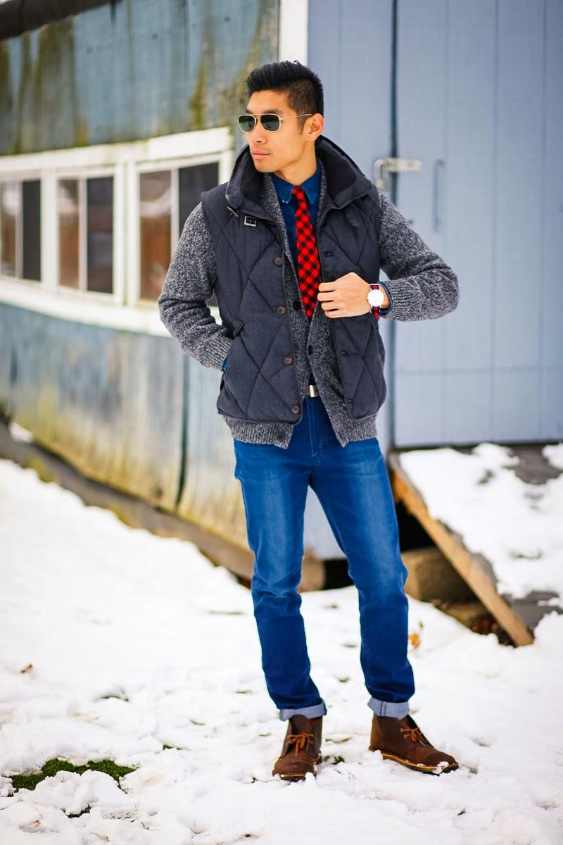 Mens Fashion Gap H&M Clarks Boots