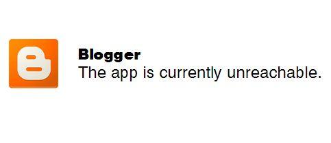 Blogger Sulit Diakses