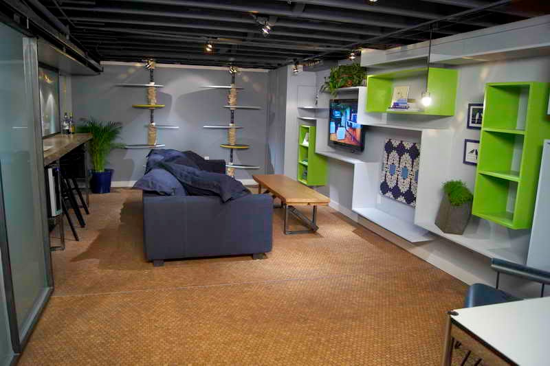 Diy basement remodeling ideas instant knowledge Diy basement finishing ideas