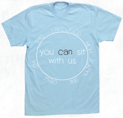Link Crew T Shirt Design