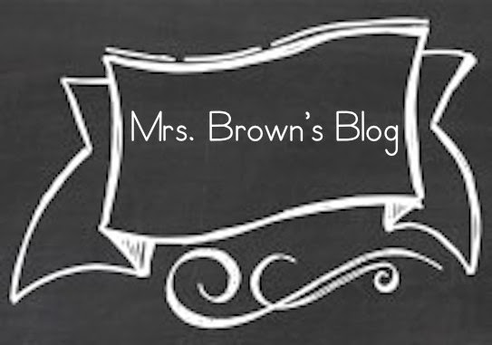 Mrs. Brown's Kindergarten Blog