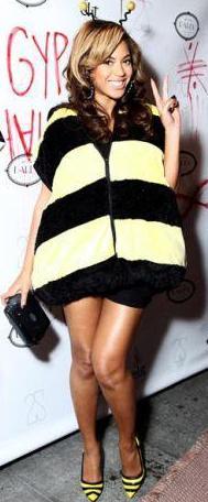 Disfraz de Beyoncé como abeja