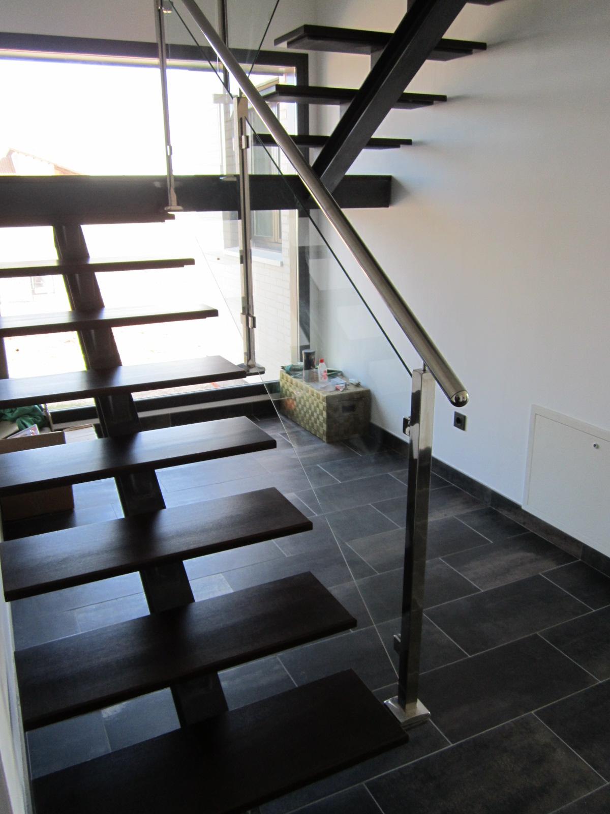 Norbel carpinteria met lica y acero inoxidable escalera - Escaleras de peldanos ...