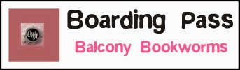 "Boarding Pass ""Balcony Bookworms"