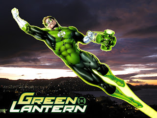 Flying Green Lantern Comics HD Wallpaper